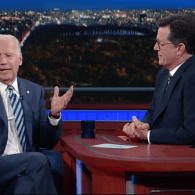 Joe Biden Tells Stephen Colbert Whether He Really Intends to Run in 2020: WATCH