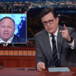 stephen colbert alex jones