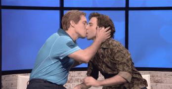 john cena gay kiss snl