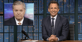 seth meyers lindsey graham