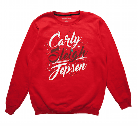 Carly Sleigh Jepsen sweatshirts makes a great gay gift