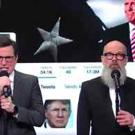 Michael Stipe Joins Stephen Colbert to Shred 2016 with 'It's The End of the Year As We Know It' – WATCH