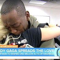 Lady Gaga Surprises Homeless LGBTQ Teens with Carload of Gifts: WATCH