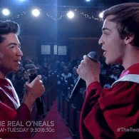 'The Real O'Neals' Makes a Romantic Christmas Choir Mash-Up of 'The Greatest' and 'O Holy Night' – WATCH