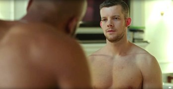Russell Tovey shirtless