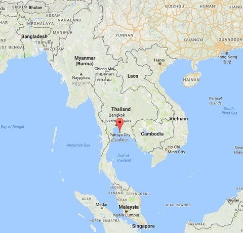 Thailand Map