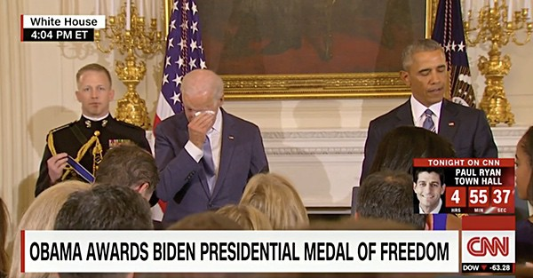 Joe Biden presidential Medal of Honor