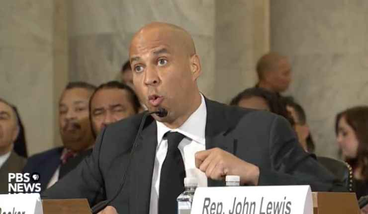 Cory Booker Jeff Sessions