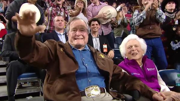 George HW Bush gay rights