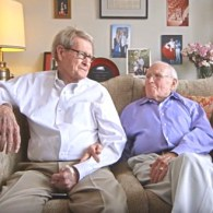 Gay Married 'Soulmates' Celebrate 55th Valentine's Day in Adorable Necco Sweethearts Ad: WATCH