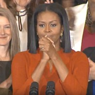 Michelle Obama Holds Back Tears in Final Speech as First Lady: 'I Hope I Made You Proud' – WATCH