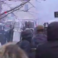 Inauguration Protests Turn Violent as Police Clash with Anti-Trump Protesters: WATCH