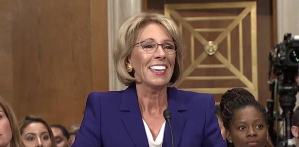 Betsy Devos Nomination Chilling >> Heinous Education Secretary Nominee Betsy Devos Has Her Defensive