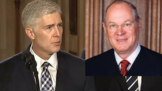 Neil Gorsuch Anthony Kennedy