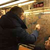 anti-semitic graffiti nyc subway