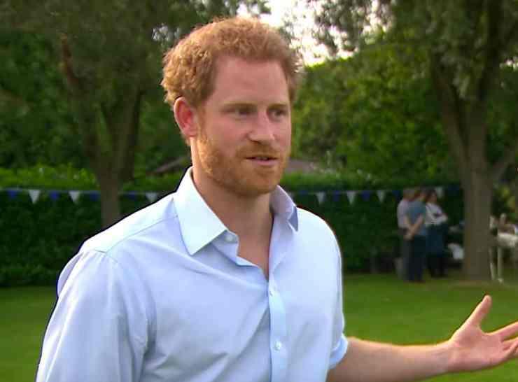 Prince Harry waxing