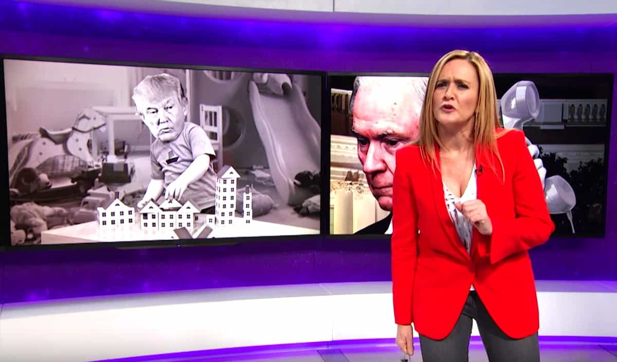 Samantha Bee whiplash
