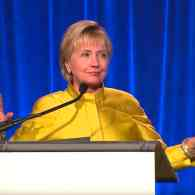Hillary Clinton Hits Trump on LGBT Rights, Says U.S. Government Must Take Action in Chechnya: WATCH