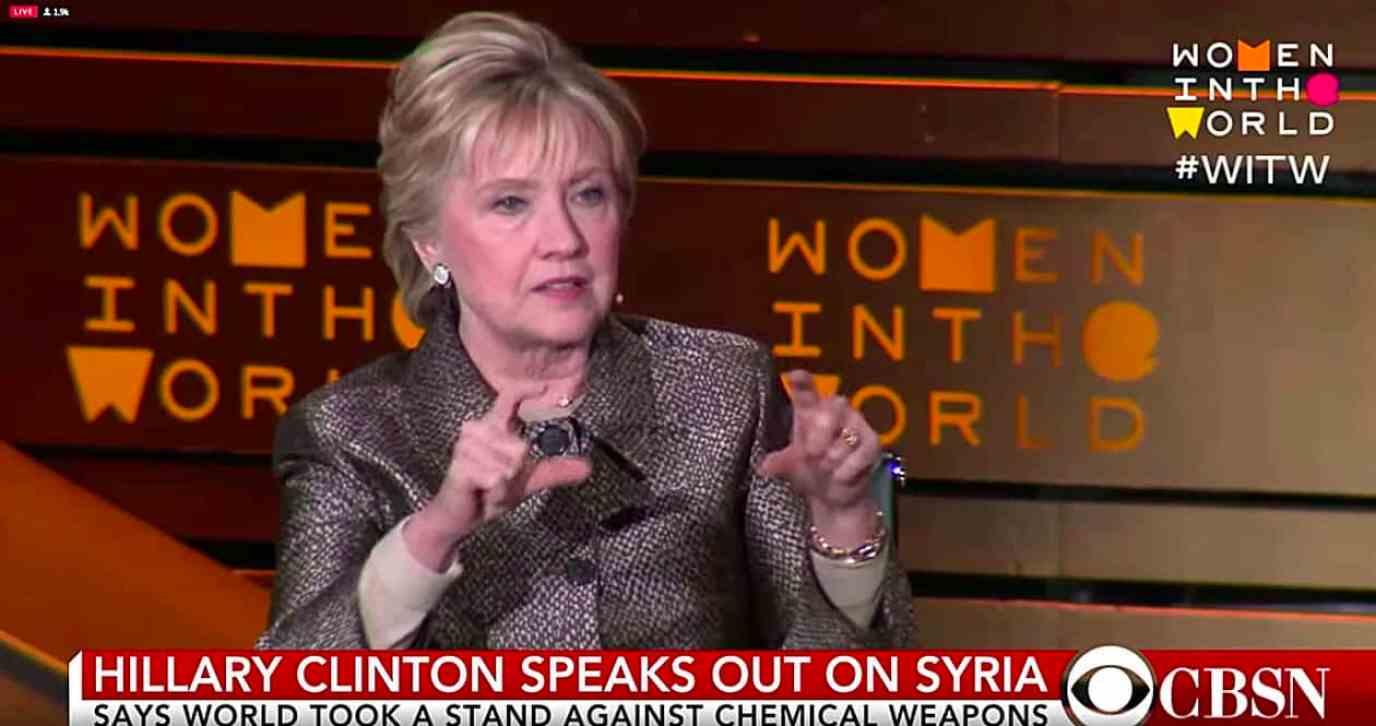 Hillary Clinton Syria