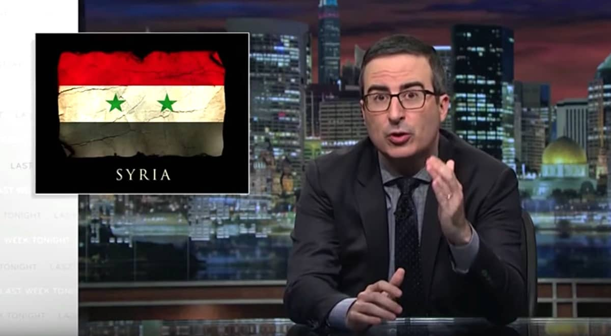 John Oliver explains how gerrymandering hurts weirdos, racists, and democracy