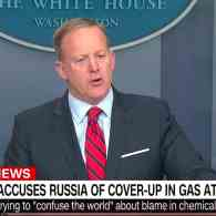 Sean Spicer on Assad: 'Hitler Didn't Even Sink to the Level of Using Chemical Weapons' – WATCH