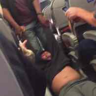 Bloody Man Violently Dragged Off Overbooked United Flight as Passengers Shriek in Horror: WATCH