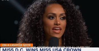 Kara McCullough Miss USA 2017