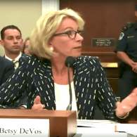 Betsy DeVos is Fine with Letting States Discriminate Against LGBT Students: WATCH