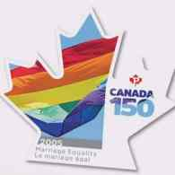 Canada Launches 150th Anniversary Stamp Celebrating Marriage Equality: VIDEO