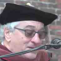 Robert De Niro Tells Brown University Grads: 'You are Graduating into a Tragic, Dumbass Comedy' – WATCH