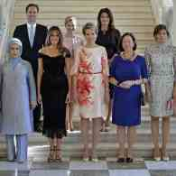 White House Excludes Gay First Spouse from NATO Photo Caption