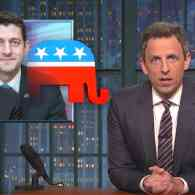 Seth Meyers Rips Paul Ryan's Healthcare Hypocrisy in Trumpcare Takedown: WATCH