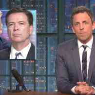 Seth Meyers Autopsies the Grim Firing of James Comey in the Most Hilarious Way Possible: WATCH