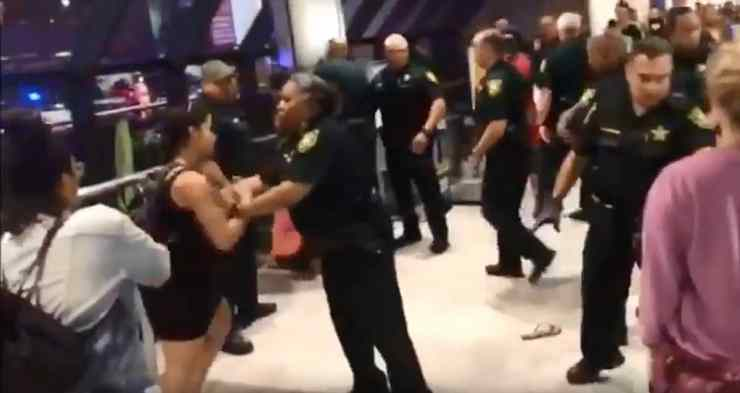 spirit airlines brawl