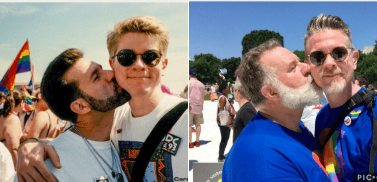 gay pride flashback