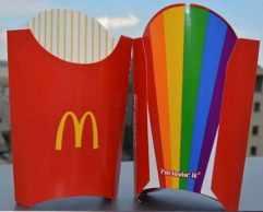 mcdonalds rainbow fries