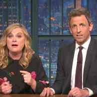 Amy Poehler and Seth Meyers 'Really' Rip Trump Supporters, Ted Nugent, Ann Coulter, and Hillary Haters: WATCH