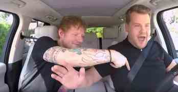 Sheeran Carpool karaoke