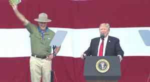 Boy Scouts Trump