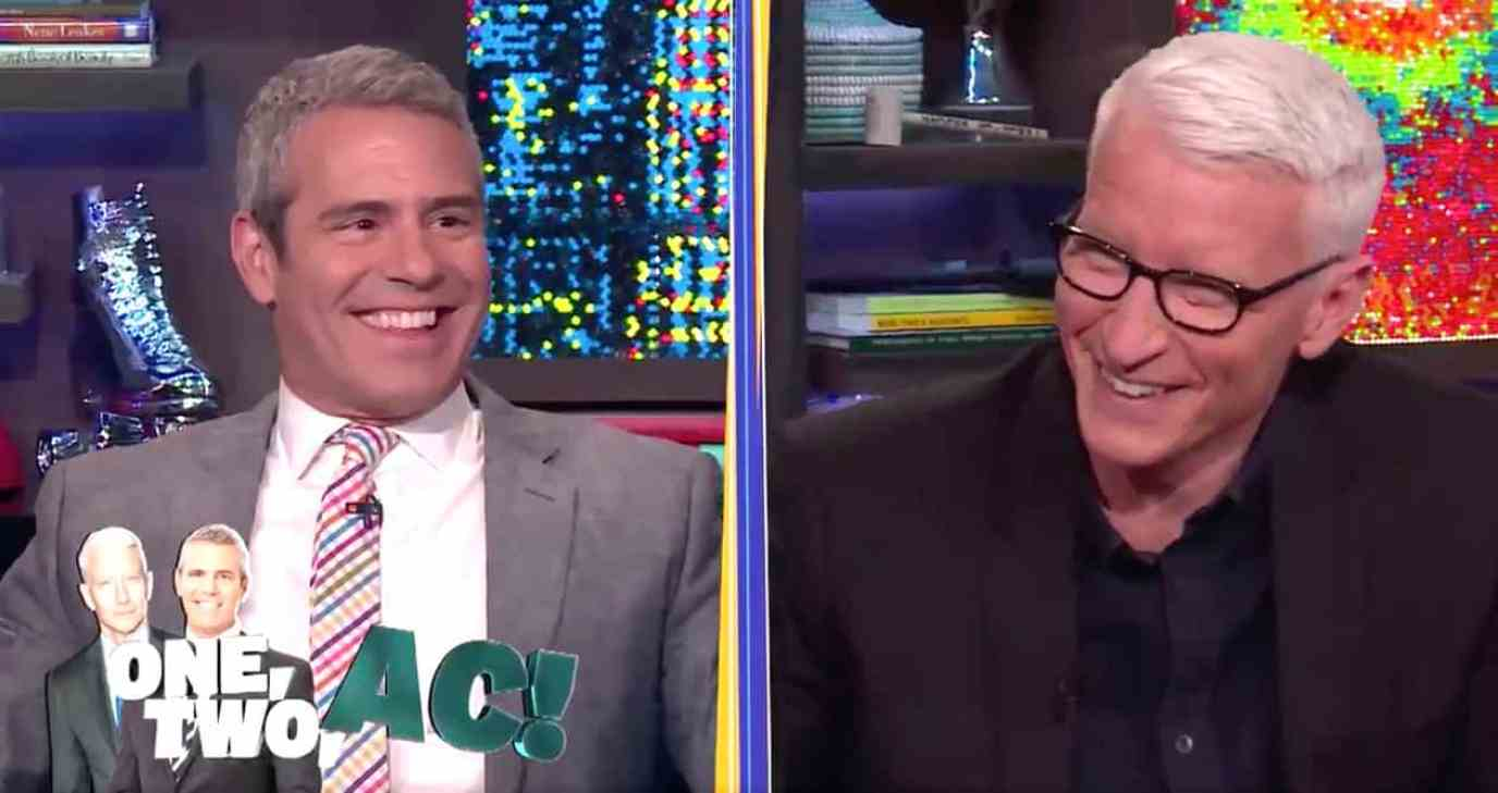 Andy Cohen Anderson Cooper