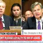 Lindsey Graham Christopher Wray