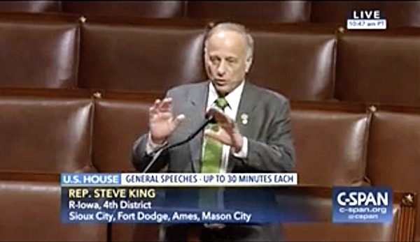 from Santos steve king gay marriage iowa