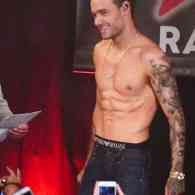 Liam Payne shirtless