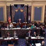 Cries of 'Kill the Bill' and 'Shame' Break Out as Senate Votes to Open Debate on Cruel Trumpcare Bill: WATCH