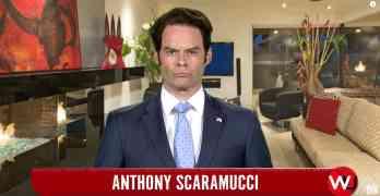 Bill Hader Anthony Scaramucci