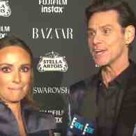 jim carrey fashion week