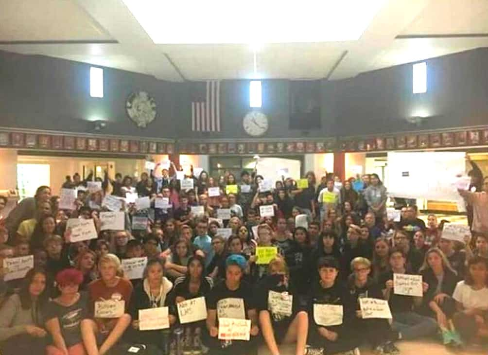 lhs protest