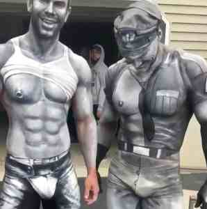 tom of finland body paint