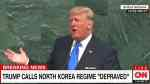 Trump North Korea