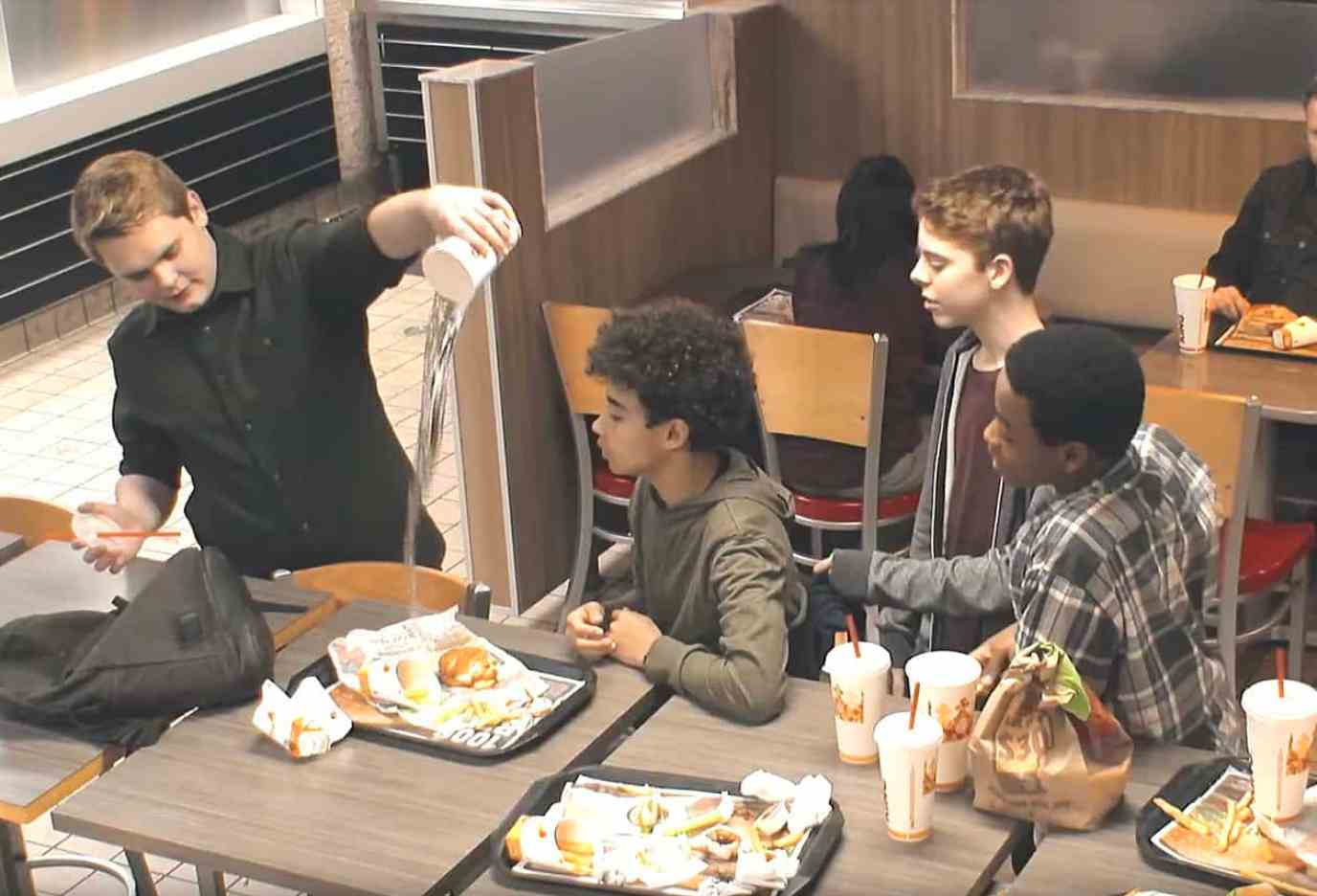 burger king bullying